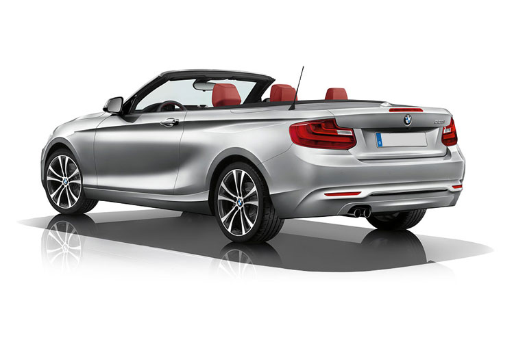 BMW 2 Series 218 Convertible 1.5 i 136PS Sport 2Dr Manual [Start Stop] [Tech II] back view