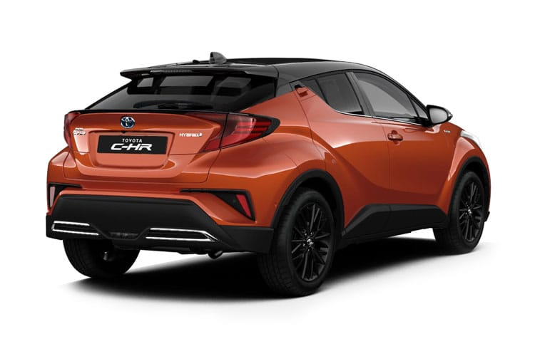 Toyota C-HR 5Dr 2.0 VVT-h 184PS GR SPORT 5Dr CVT [Start Stop] back view