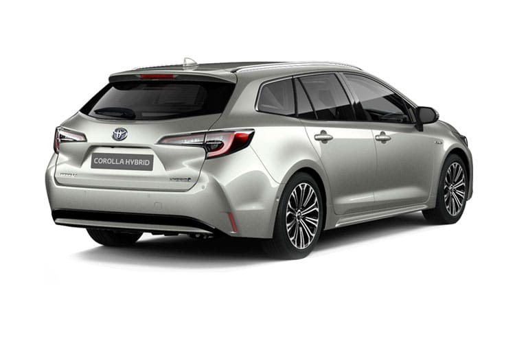 Toyota Corolla Touring Sports 1.8 VVT-h 122PS Icon 5Dr CVT [Start Stop] back view