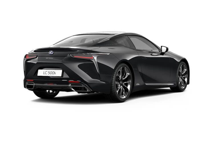 Lexus LC 500 Coupe 3.5 h V6 359PS Sport 2Dr E-CVT [Start Stop] [Manhattan Orange HUD] back view