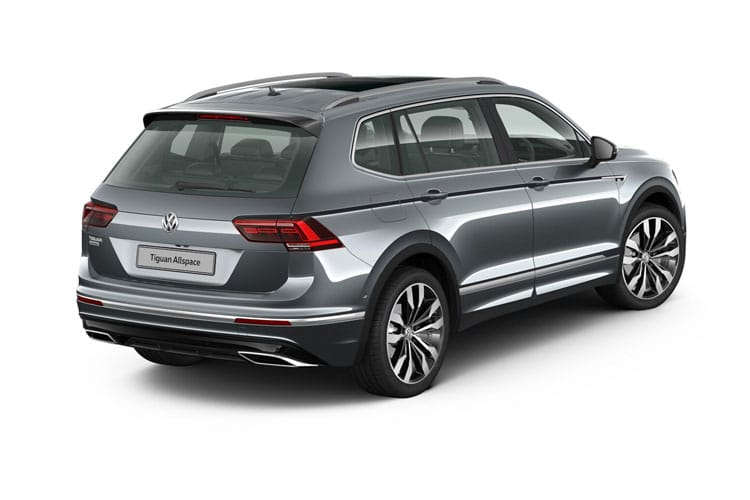 Volkswagen Tiguan Allspace SUV 4Motion 2.0 TDI 150PS Match 5Dr DSG [Start Stop] back view