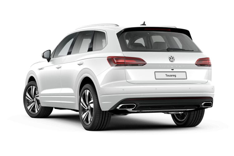 Volkswagen Touareg SUV 4Motion 3.0 V6 TDI 286PS R-Line Tech 5Dr Tiptronic [Start Stop] back view