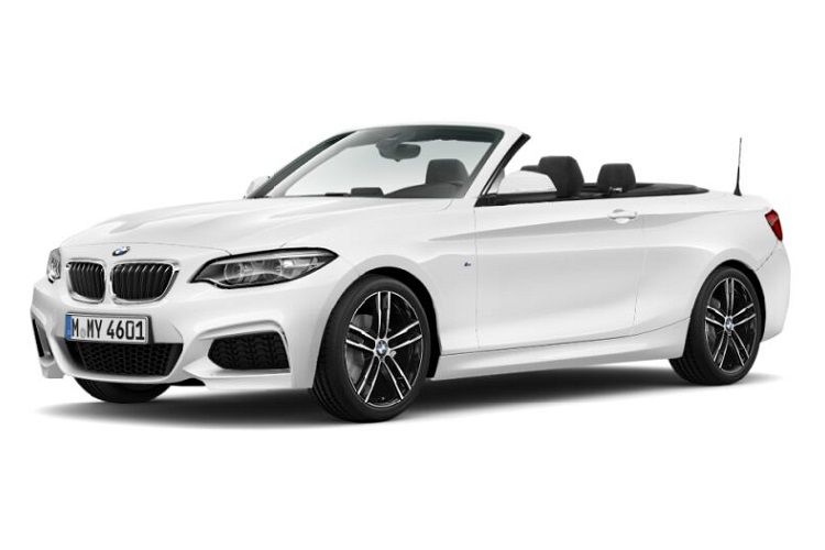 BMW 2 Series 218 Convertible 2.0 i 136PS M Sport 2Dr Auto [Start Stop] [Tech II] front view