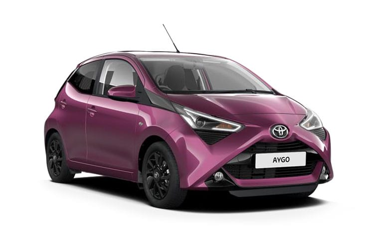 Toyota Aygo Hatch 5Dr 1.0 VVTi 71PS x-play 5Dr x-shift front view