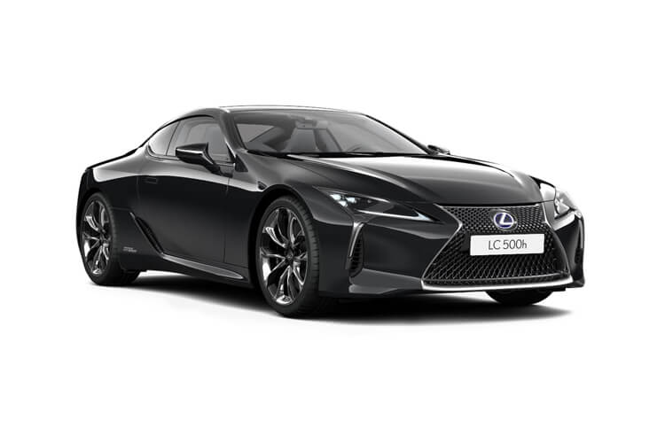 Lexus LC 500 Coupe 3.5 h V6 359PS Sport 2Dr E-CVT [Start Stop] [Manhattan Orange HUD] front view