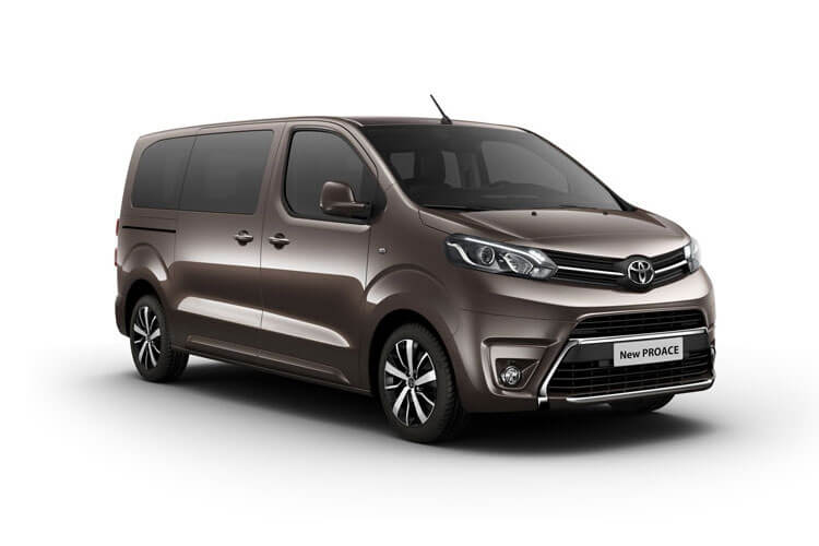 Toyota PROACE Verso Medium 2.0 D FWD 180PS Family MPV Auto [Start Stop] [8Seat] front view
