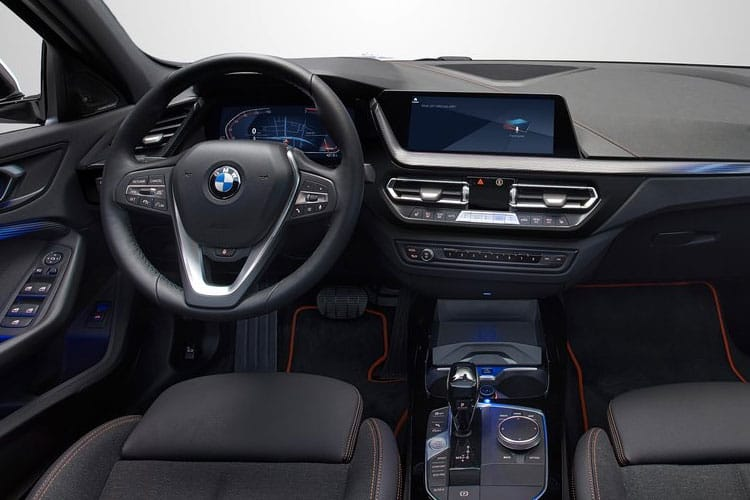 BMW 1 Series 116 Hatch 5Dr RWD 1.5 d 116PS SE Business 5Dr Manual [Start Stop] inside view