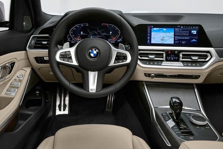 BMW 3 Series 318 Touring 2.0 d MHT 150PS M Sport 5Dr Auto [Start Stop] inside view