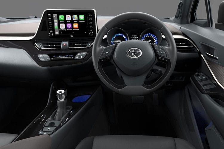 Toyota C-HR 5Dr 2.0 VVT-h 184PS GR SPORT 5Dr CVT [Start Stop] inside view