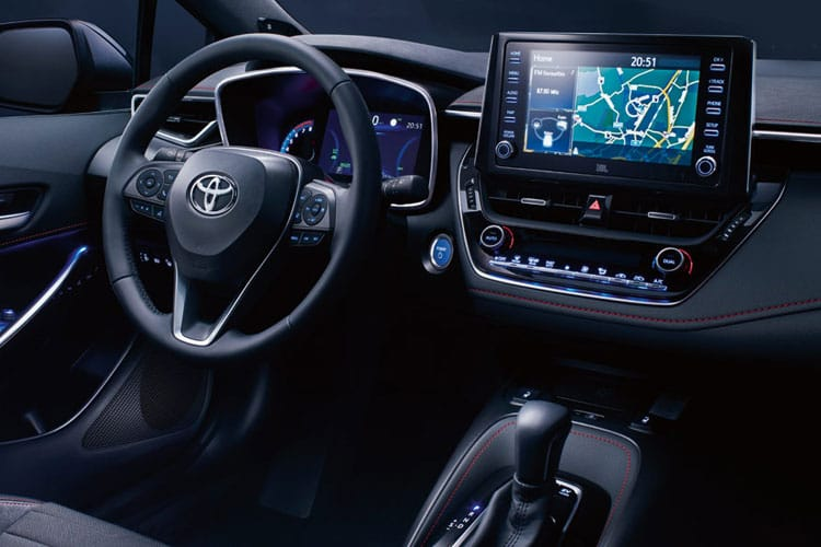 Toyota Corolla Touring Sports 1.8 VVT-h 122PS Icon 5Dr CVT [Start Stop] inside view