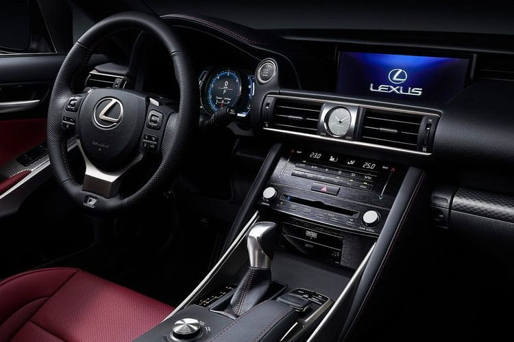 Lexus IS 300 Saloon 2.5 h 223PS IS 4Dr E-CVT [Start Stop] [Sport] inside view