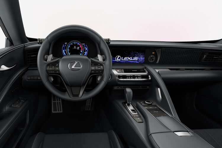 Lexus LC 500 Coupe 3.5 h V6 359PS Sport 2Dr E-CVT [Start Stop] [Manhattan Orange HUD] inside view