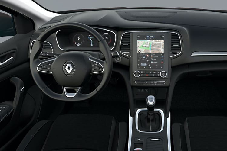 Renault Megane Hatch 5Dr 1.3 TCe 140PS RS Line 5Dr EDC [Start Stop] inside view