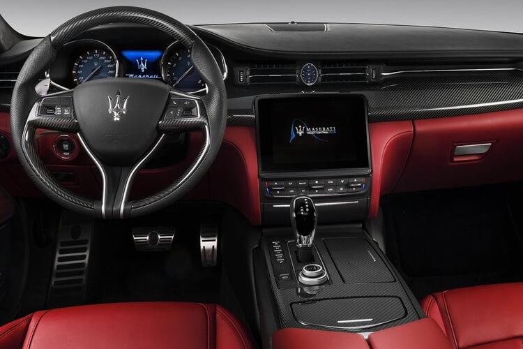 Maserati Quattroporte Saloon 3.0 V6 350PS GranSport 4Dr ZF [Start Stop] inside view
