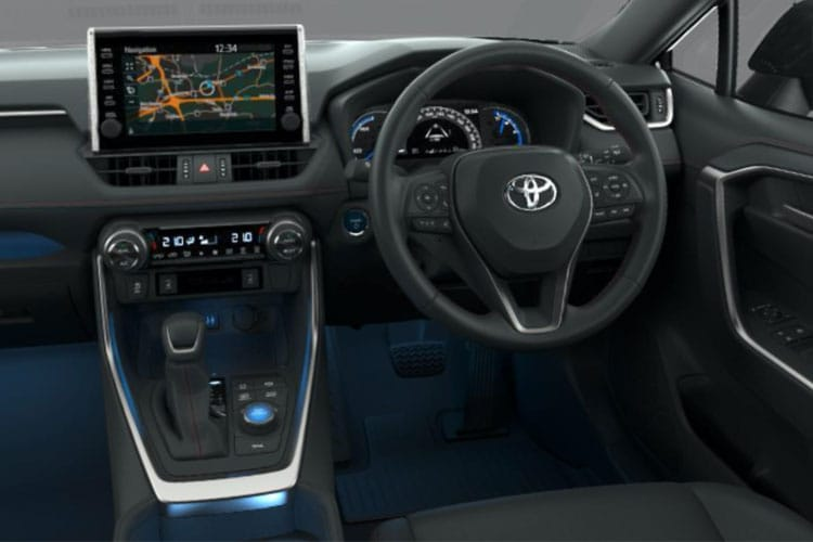 Toyota RAV4 SUV 2wd 2.5 VVT-h 218PS Icon 5Dr CVT [Start Stop] inside view