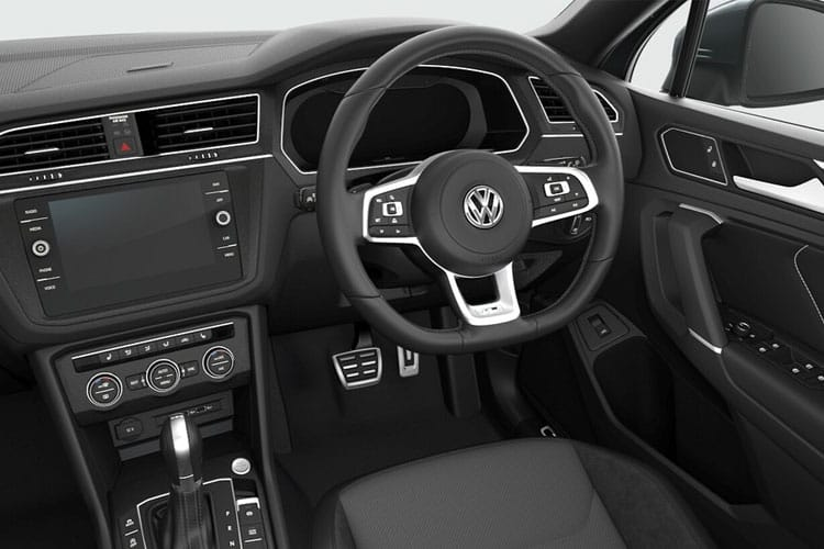 Volkswagen Tiguan Allspace SUV 4Motion 2.0 TDI 150PS Match 5Dr DSG [Start Stop] inside view
