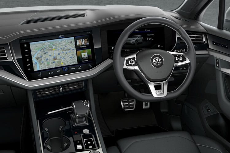 Volkswagen Touareg SUV 4Motion 3.0 V6 TDI 286PS R-Line Tech 5Dr Tiptronic [Start Stop] inside view