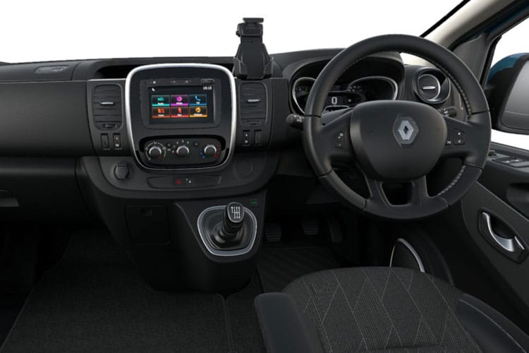 Renault Trafic 28 SWB MiniBus M1 2.0 dCi FWD 145PS SpaceClass Minibus Manual [Start Stop] [8Seat] inside view